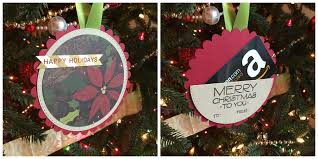 diy gift card holder ornament free tutorial