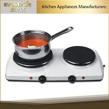 poele electrique cuisine cuisine applience 2 brûleur solaire électrique poêle intégré