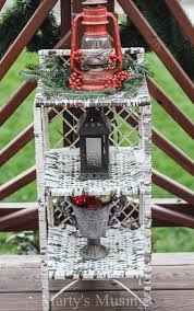 Christmas Garden Decorations For Sale by Inexpensive Deck Decorating Ideas For Christmas Marty U0027s Musings
