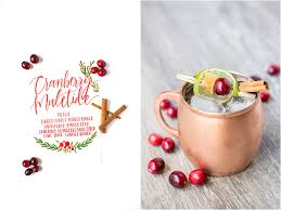 laura u0026 rachel photographycranberry muletide cocktail holiday