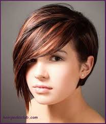 asymmetric bob short haircuts for fine hair and round faces