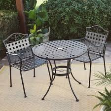wrought iron patio table and chairs small patio furniture wrought iron outdoor decor bistro set table