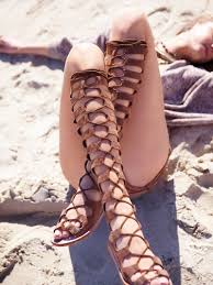 style inspiration lace up gladiator sandals this is glamorous