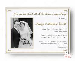 Golden Wedding Invitation Cards 50th Anniversary Invitation 50th Wedding Anniversary