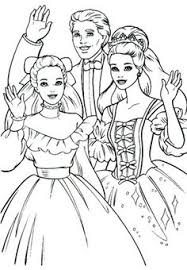 barbie coloring coloring pages kids