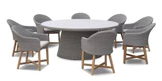 plantation 8 with coastal outdoor wicker dining chairs bay