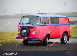 volkswagen kombi mini iceland september 10 vw bus volkswagen stock photo 324744233