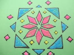 rangoli patterns using mathematical shapes 47 best art from india images on pinterest elementary schools