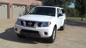 nissan white truck hd video 2012 nissan frontier sv are camper top work truck see www