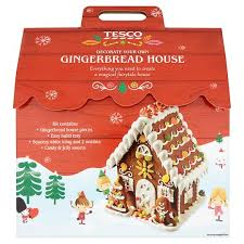 Tesco Decorate Your Own Gingerbread House 800G