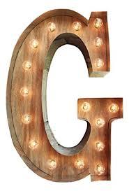 g marquee light up letter sign custom a z light bulb