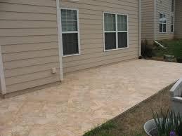Backyard Flooring Options by Top Tiling Over Concrete Patio Interior Design Ideas Interior