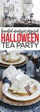 haunted mansion halloween tea party ideas printable crush