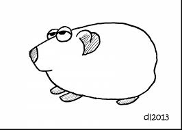superb cute guinea pig coloring pages with guinea pig coloring
