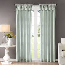 How To Say Curtains In French Madison Park Natalie Twisted Tab Curtain Panel Free Shipping On