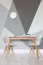 Table A Manger Murale by Convex Wall Mural Geometric Wallpaper Wallpaper Designs And
