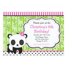 panda birthday cards greeting u0026 photo cards zazzle