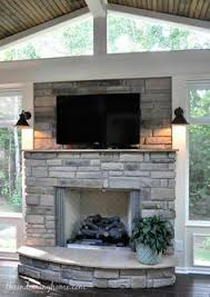 23 best screen porch fireplaces images on pinterest porch
