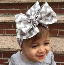 bow headband diy tie bow headband big bow dot print baby cotton