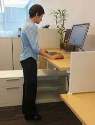 Sitting And Standing Desk by Sit Stand Workstation Set Up Ubc Human Resources