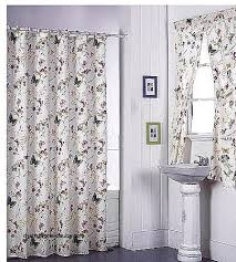 Matching Bathroom Window And Shower Curtains Bathroom Window Curtains With Matching Shower Curtain Luxury