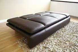 leather sleeper sofa lovable seat sleeper sofa
