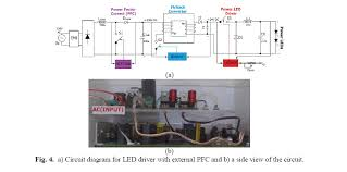 design implementation and comparison of flyback type power led