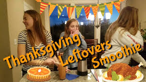 thanksgiving smoothie challenge 2017 gross leftovers