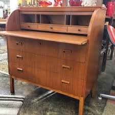 Compact Secretary Desk This Is Nearly But Not Quite An Imitation Of A Davenport Desk A