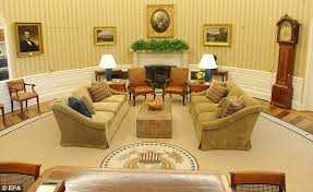 Trump Oval Office Rug Obama Wrongly Attributes Quotes On His New Oval Office Rug To