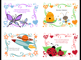 kids valentines day cards kids s day cards 24 designs office templates