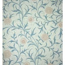 beautiful scroll wallpaper designed by william morris living