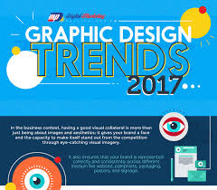 2017 design trends the top 8 graphic design trends in 2017 infographic socialmedia