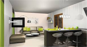 d馗oration cuisine ouverte superbe amenagement salon cuisine 30m2 2 indogate decoration avec