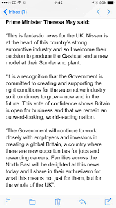 nissan australia official website uk economy up 0 5 since brexit vote nissan to build new qashqai