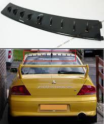 2001 2007 mitsubishi lancer evo 7 8 9 carbon fiber roof vortex