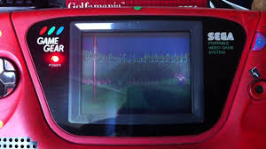 game gear backlight mod game gear lcd mod led fix and audio repair youtube