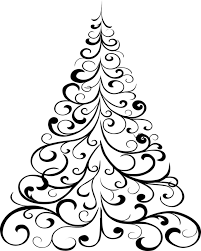 free printable christmas tree coloring page patterns pinterest