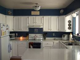 blue and white kitchen ideas paint colors for kitchens with white cabinets blue kitchen paint