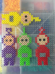 teletubbies perler beads key chains look cool tinky winky dipsy