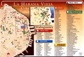 Cuba On A Map La Habana Vieja Es La Zona Más Antigua De Cuba Y La Que Más
