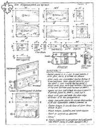 Camp Kitchen Chuck Box Plans by Vintage Popular Mechanics Magazine Plan For Kitchen Prep Box Or