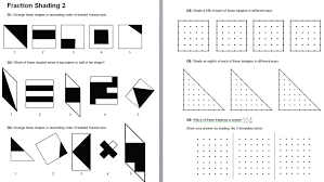 shading fractions part 2 solve my maths