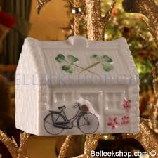 belleek nell s cottage tree ornament belleek