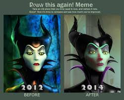 Maleficent Meme - maleficent before and after by aemiliuslives on deviantart