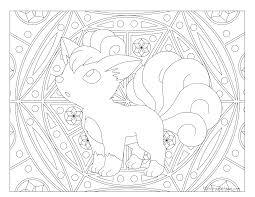 037 vulpix pokemon coloring page windingpathsart com