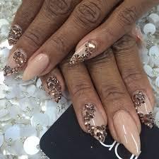almond nail art oh i love nails pinterest almond nail art