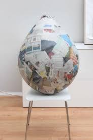 large paper mache egg papier mache balloon jpg