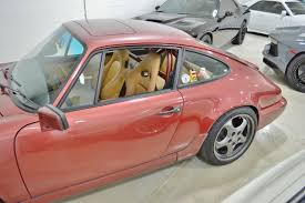 porsche 964 red 1989 porsche 911 carrera 4 964 c4 coupe real muscle exotic