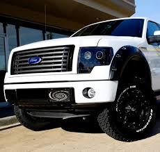 2013 ford f150 truck accessories smoked projector headlights ford f150 raptor 09 13 ccfl halos